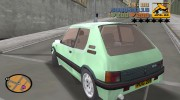 Peugeot 205 GTI for GTA 3 miniature 3