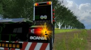 Scania R560 Templer Edition Green Turm for Farming Simulator 2013 miniature 6