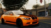 2011 BMW M3 GTS for GTA San Andreas miniature 7