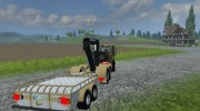 Mercedes-Benz Unimog crane devices Trailer for Farming Simulator 2013 miniature 7