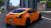 Nissan 370z v2.0 for GTA 5 miniature 3