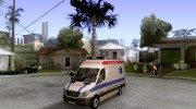 Mercedes-Benz Sprinter Baku Ambulans для GTA San Andreas миниатюра 1