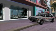 Beta Police car for GTA Vice City miniature 1