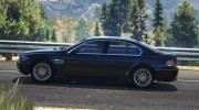 BMW 760i (e65) for GTA 5 miniature 4