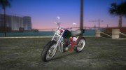 Honda FTR Custom v3.0 for GTA Vice City miniature 1