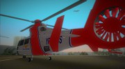 Eurocopter AS-365N Dauphin 2 for GTA Vice City miniature 4
