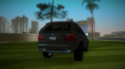BMW X5 for GTA Vice City miniature 3