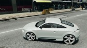 Audi TT 2007 quattro Sport for GTA 4 miniature 2