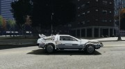 DeLorean DMC-12 (BTTF1) for GTA 4 miniature 5