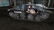 Аниме шкурка для Hetzer для World Of Tanks миниатюра 5