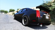 2009 Cadillac CTS-V for GTA 5 miniature 4