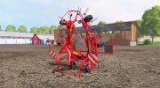 Kuhn GF 6502 for Farming Simulator 2015 miniature 2