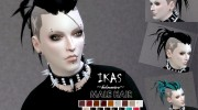 IKAS - Hair style for Sims 4 miniature 3