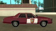 Ford LTD Crown Victoria 1991 Minnesota State Trooper for GTA San Andreas miniature 6