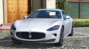 2010 Maserati GranTurismo S for GTA 5 miniature 1