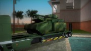 DAF XF 530 2002 Army for GTA Vice City miniature 8