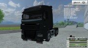 DAF XF 105 510 v 1.1 for Farming Simulator 2013 miniature 11