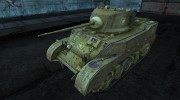 Шкурка для M5 Stuart для World Of Tanks миниатюра 1