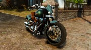 Harley Davidson Fat Boy Lo Racing Bobber для GTA 4 миниатюра 1