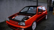 Volkswagen Golf VR6 1998 DTD TUNED for GTA 4 miniature 3