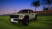 Ford F-150 SVT Raptor Stock for GTA Vice City miniature 1