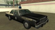Ford LTD Crown Victoria 1987 Florida Highway Patrol for GTA San Andreas miniature 2