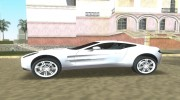 Aston Martin One 77 для GTA Vice City миниатюра 2
