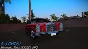Mercedes-Benz 300 SEL 6.3 (W109) 1967 for GTA Vice City miniature 1