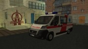 Fiat Ducato Lithuanian Ambulance for GTA San Andreas miniature 1