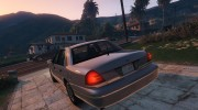 1999 Ford Crown Victoria for GTA 5 miniature 3