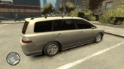 2006 Honda Odyssey for GTA 4 miniature 3
