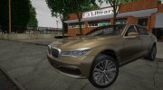 BMW 760i G12 2016 for GTA San Andreas miniature 1