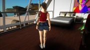 Claire Redfield Denim Shorts for GTA San Andreas miniature 4