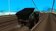 Missile Launcher Truck for GTA San Andreas miniature 4