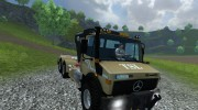 Mercedes-Benz Unimog crane devices Trailer for Farming Simulator 2013 miniature 10