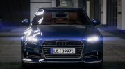 Audi A4 2017 v1.1 for GTA 5 miniature 5
