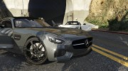 2016 Mercedes-Benz AMG GT v2.2 for GTA 5 miniature 6
