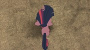 Twilight Sparkle for GTA San Andreas miniature 4