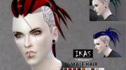 IKAS - Hair style for Sims 4 miniature 2