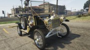 Ford T 1910 Passenger Open Touring Car for GTA 5 miniature 11