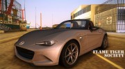 Mazda MX5 Roadster 2015 for GTA Vice City miniature 1