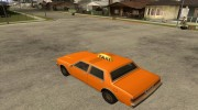 LV Taxi for GTA San Andreas miniature 3