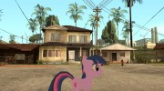 Twilight Sparkle para GTA San Andreas miniatura 2