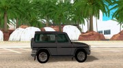 Mercedes-Benz G500 1999 Short [with kangoo v1] for GTA San Andreas miniature 5