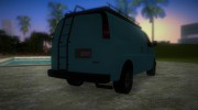 GMC Savanna for GTA Vice City miniature 3