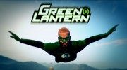 Green Lantern - Franklin 1.1 for GTA 5 miniature 1