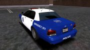 2005 Ford Crown Victoria SFPD (Stanier II Style) for GTA San Andreas miniature 3