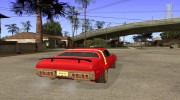 Plymouth Roadrunner для GTA San Andreas миниатюра 4