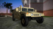 HMMWV M-998 1984 Desert Camo for GTA Vice City miniature 2