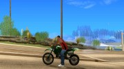 Sanchez SM Cateye для GTA San Andreas миниатюра 2